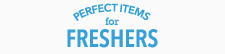 「Perfect items for freshers 」